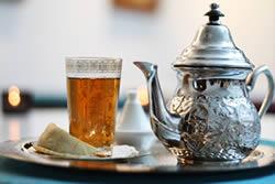 le rituel du thé au Hammam Biarritz