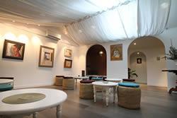 salon de thé du Hammam Biarritz